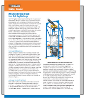 Mitigating the Risk of Dust from Bulk Bag Discharge Tech Brief PDF Cover | Hapman.com