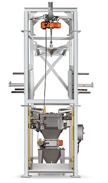 Bulk Bag Unloading with Integral Pneumatic Conveying System | Hapman.com