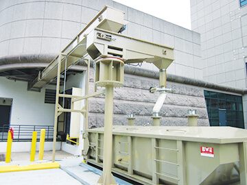 Waste Load-Out System with Tubular Drag Conveyor | Hapman.com