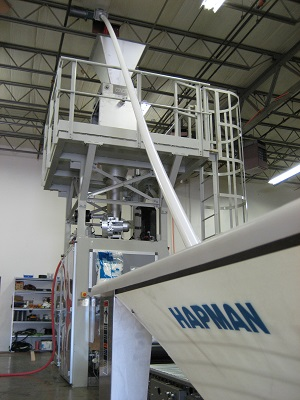 Helix Flexible Screw Conveyor Installation | Hapman.com