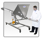 Hi/Lo Helix Flexible Screw Conveyor | Hapman.com