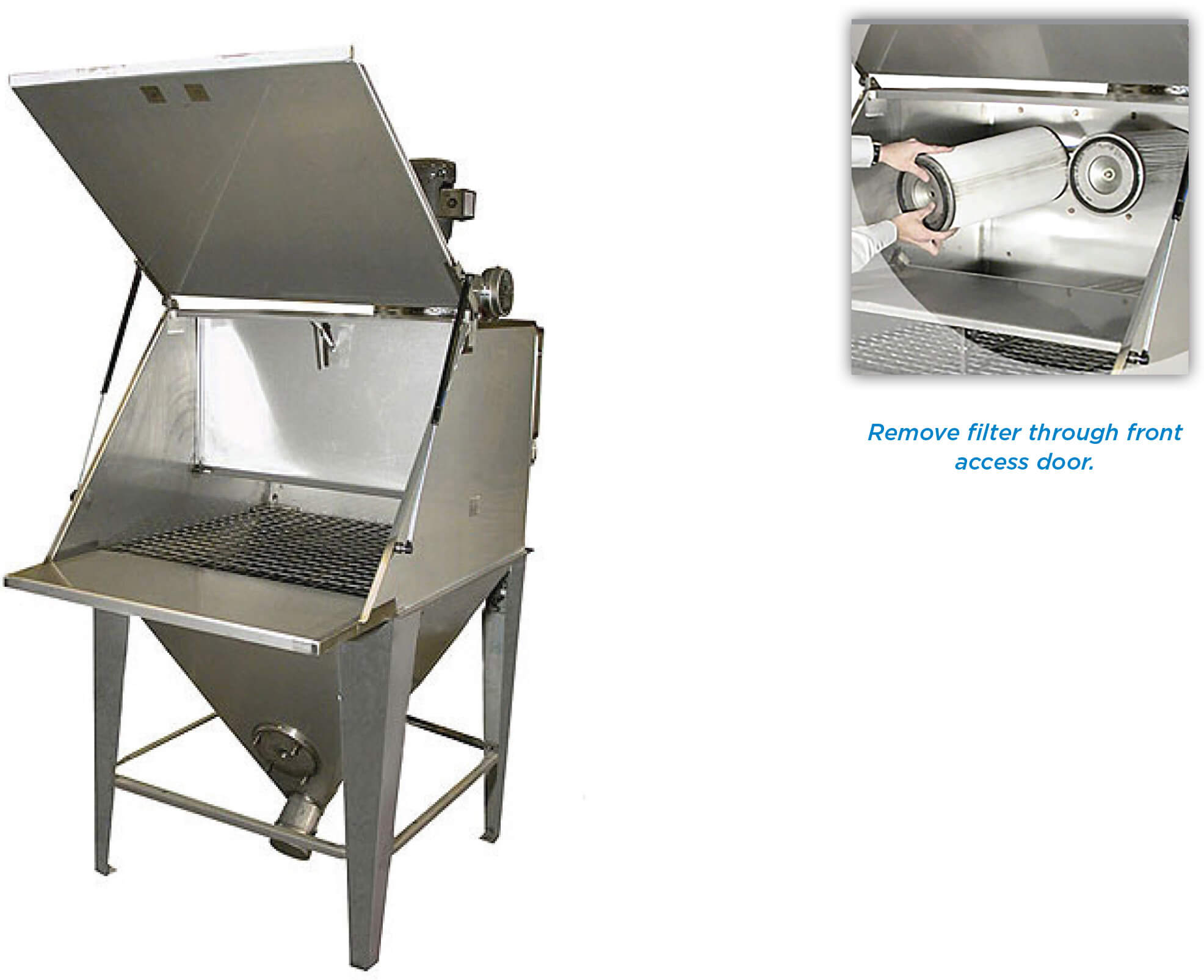 Product Brochure: FR Model Dust Collector | Hapman.com