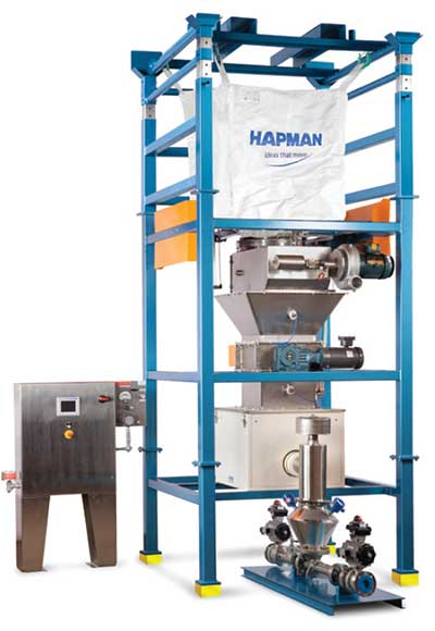 Solidquid Powder and Liquid Delivery System | Hapman.com