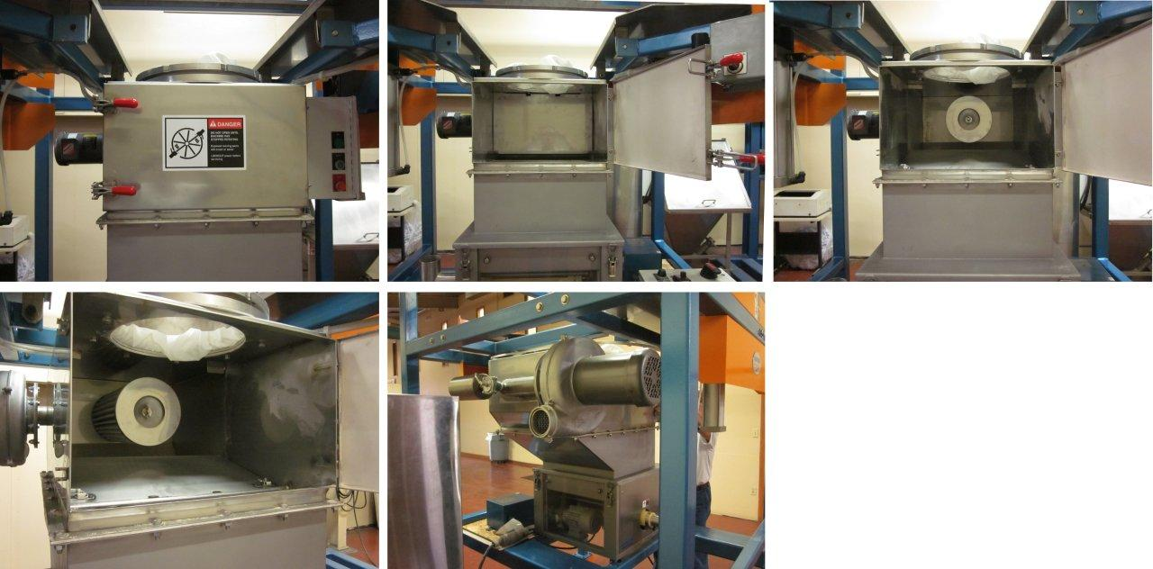Integral Access Chamber-Dust Collector